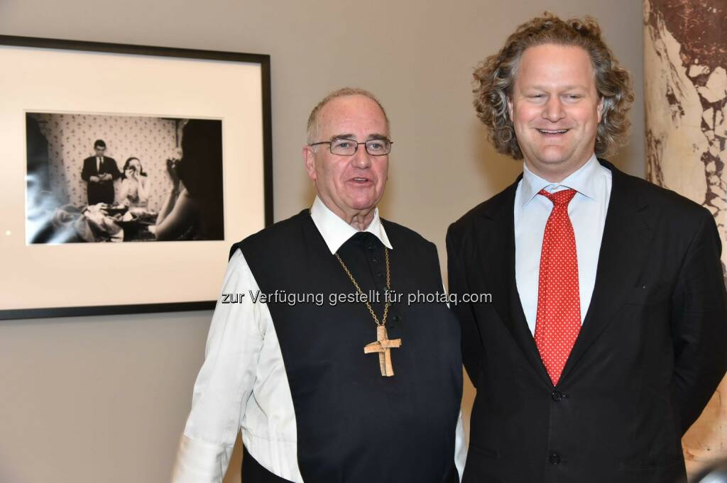 Altabt Gregor, Oscar-Preisträger Florian Henckel von Donnersmarck, © leisure.at/Christian Jobst (11.05.2014)