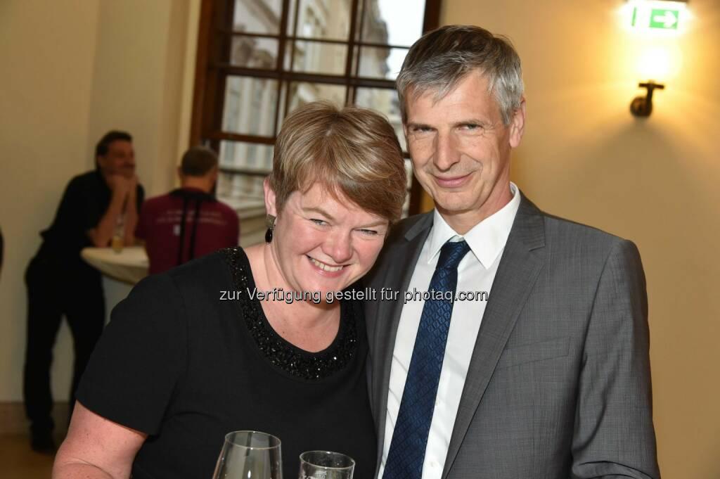 Bank Austria-Kommunikatoren Katja Erlach und Anton Kolarik, © leisure.at/Christian Jobst (11.05.2014)