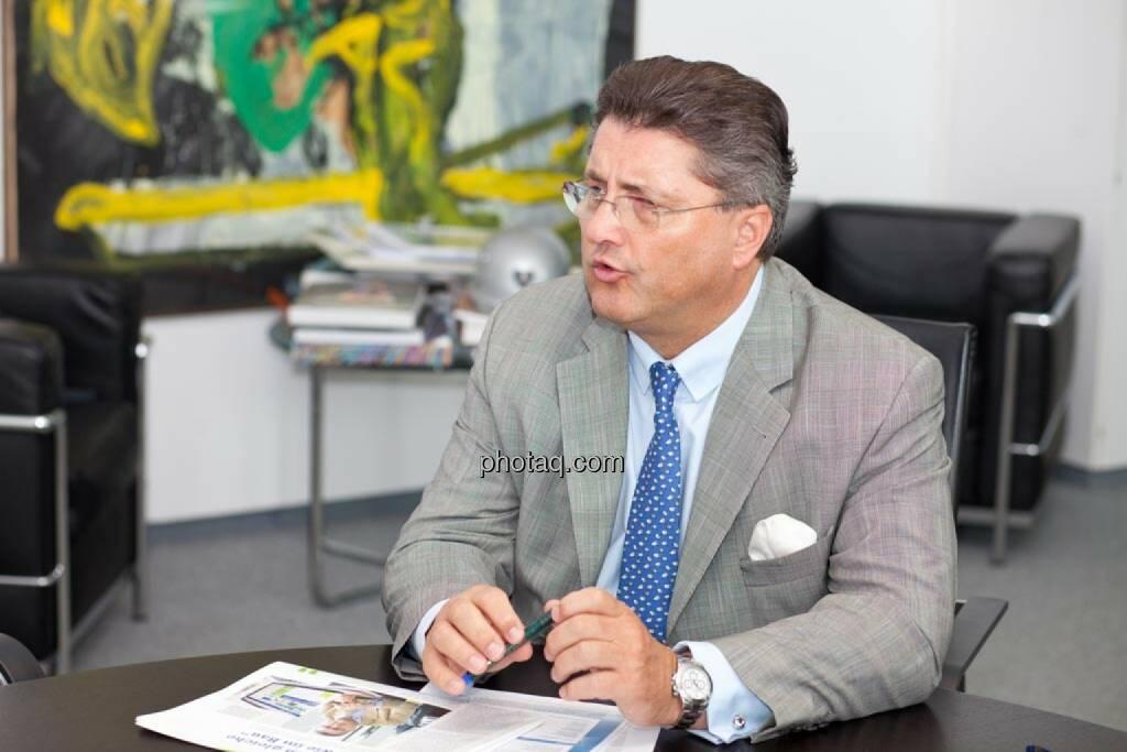 Karl-Heinz Strauss, Porr AG, © finanzmarktfoto.at/Michi Mejta (14.05.2014)