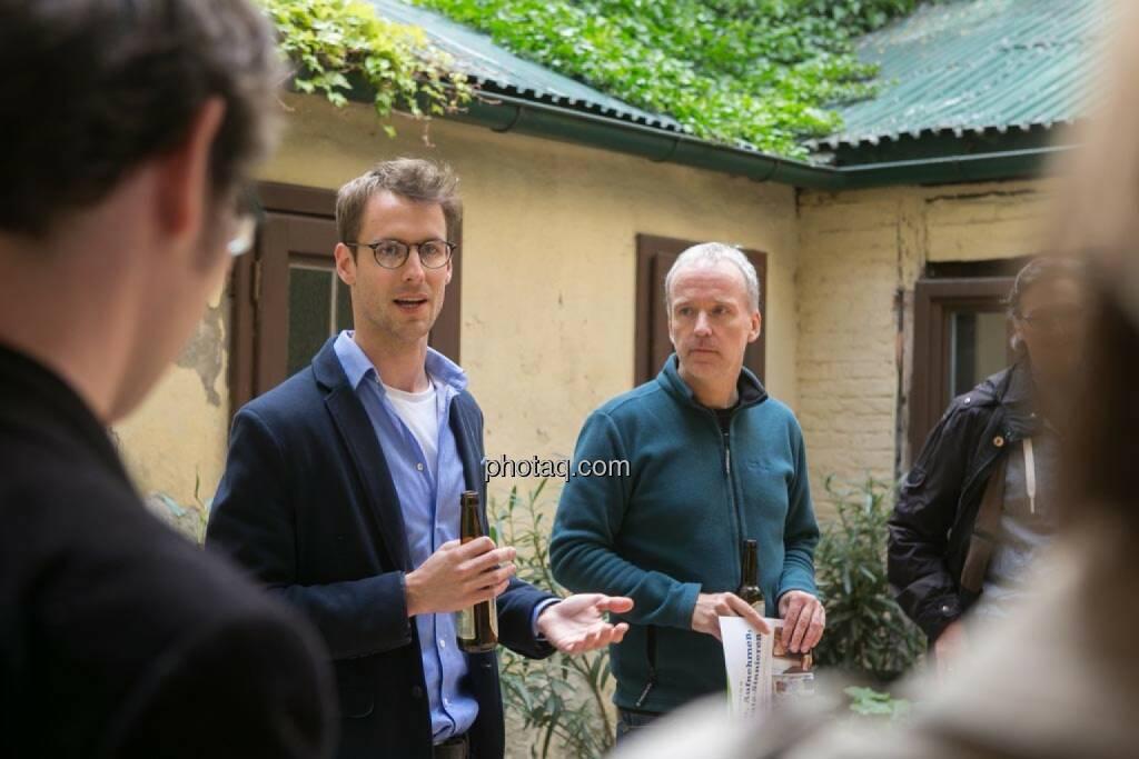 Constantin Simon (Nixe), Christian Drastil, © finanzmarktfoto.at/Martina Draper (15.05.2014)
