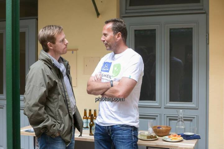 Christian-Hendrik Knappe (Deutsche Bank), Oliver Olbrich (Olbrich Media und Immobilien)