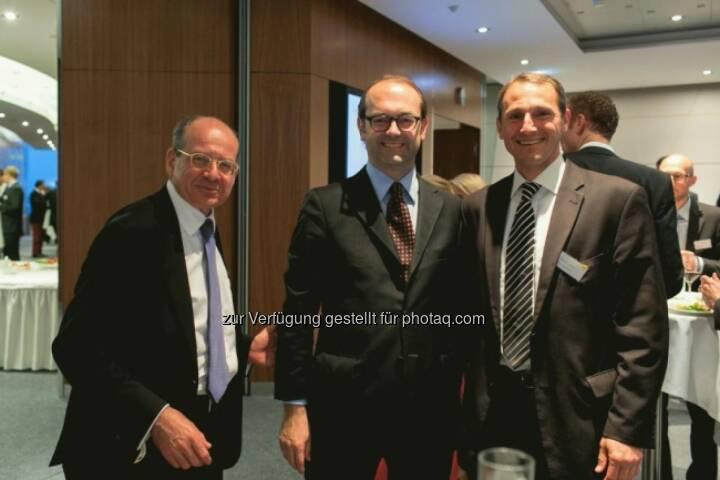 Michael Spiss (RCB), Johannes Schuster (RZB), Stefan Dörfler (Erste)