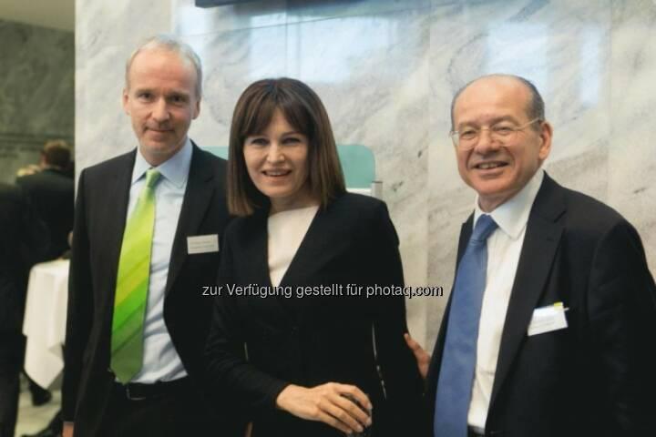 Christian Drastil (Börse Social Network), Birgit Kuras (Wiener Börse), Michael Spiss (RCB)