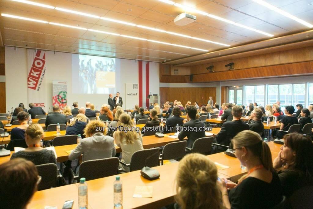 Publikum, Corporate Culture Club, WKO, © Martina Draper für Corporate Culture Club (18.05.2014)