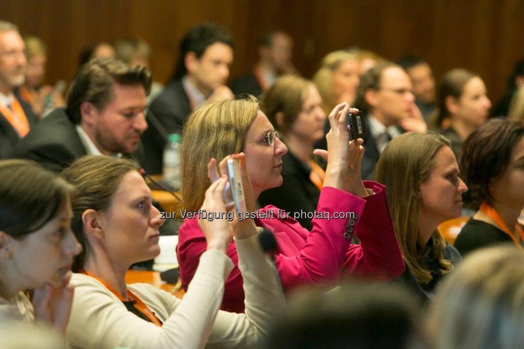 Handy, Publikum, Corporate Culture Club, © Martina Draper für Corporate Culture Club (18.05.2014)