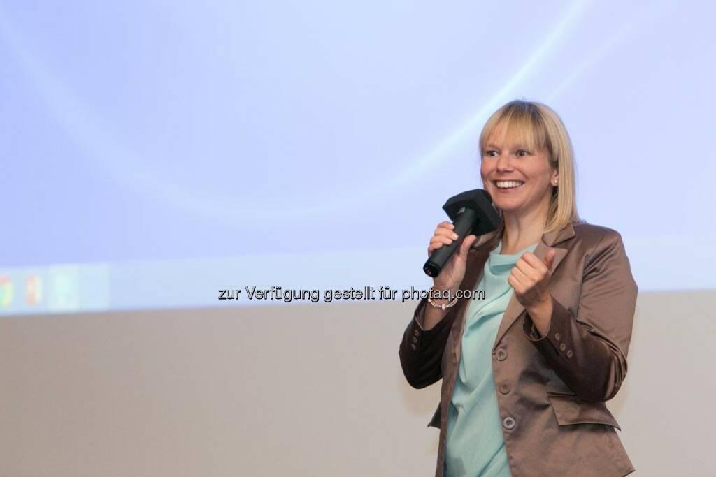 Sabine Hödl (Identitäter), © Martina Draper für Corporate Culture Club (18.05.2014)