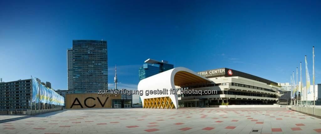 Austria Center Vienna generierte 2012 EUR 252,43 Mio. Bruttowertschöpfung (Bild: Marius Höfinger) (19.05.2014)