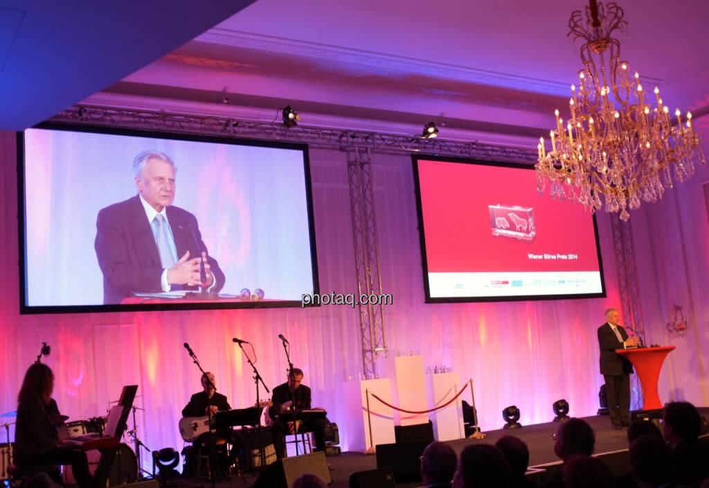 Jean-Claude Trichet war Hauptredner beim Wiener Börsepreis 2014, © Drastil / bzw. Wiener Börse (2) (20.05.2014)