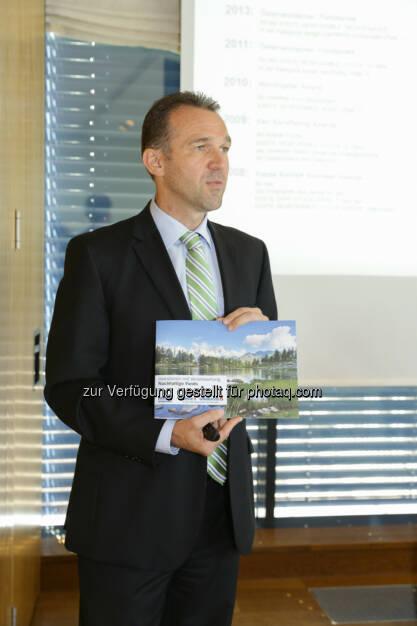 """Erste Asset Management Vorstand Christian Schön: """"Sind mit einem Gesamtfondsvolumen von mittlerweile 2,7 Mrd. Euro  bedeutendste Anbieter nachhaltiger Investmentfonds in Österreich (22.05.2014)"""