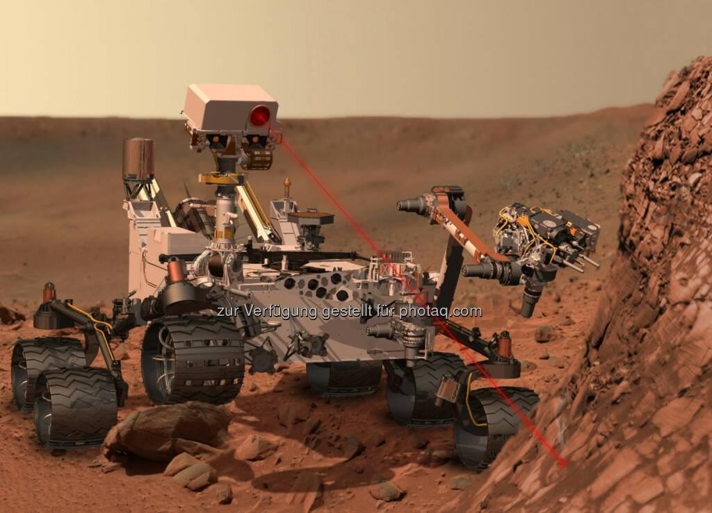Rover Curiosity dank Siemens PLM Software auf dem Mars unterwegs (23.05.2014)