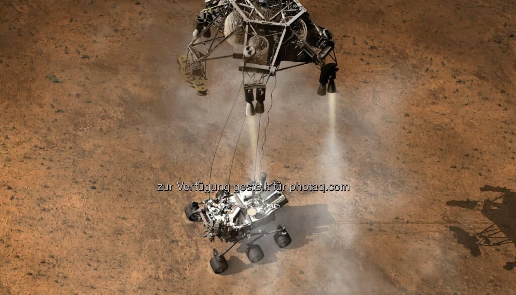 NASA-Wissenschaftler setzen für den Mars-Rover Curiosity auf Softwaretechnik von Siemens (23.05.2014)