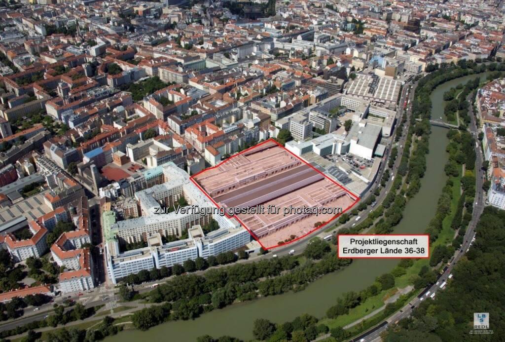 Postbus-Areal in Erdberg wird entwickelt - Premium Immobilien AG errichtet gemeinsam mit Austrian Real Estate 800 Wohnungen. (Bild: Premium Immobilien)  (23.05.2014)