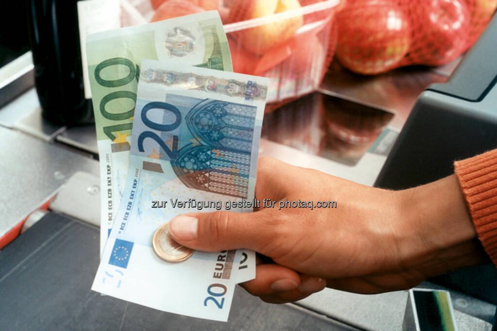 Bezahlen, Geld, Äpfel, © OeNB (25.05.2014)