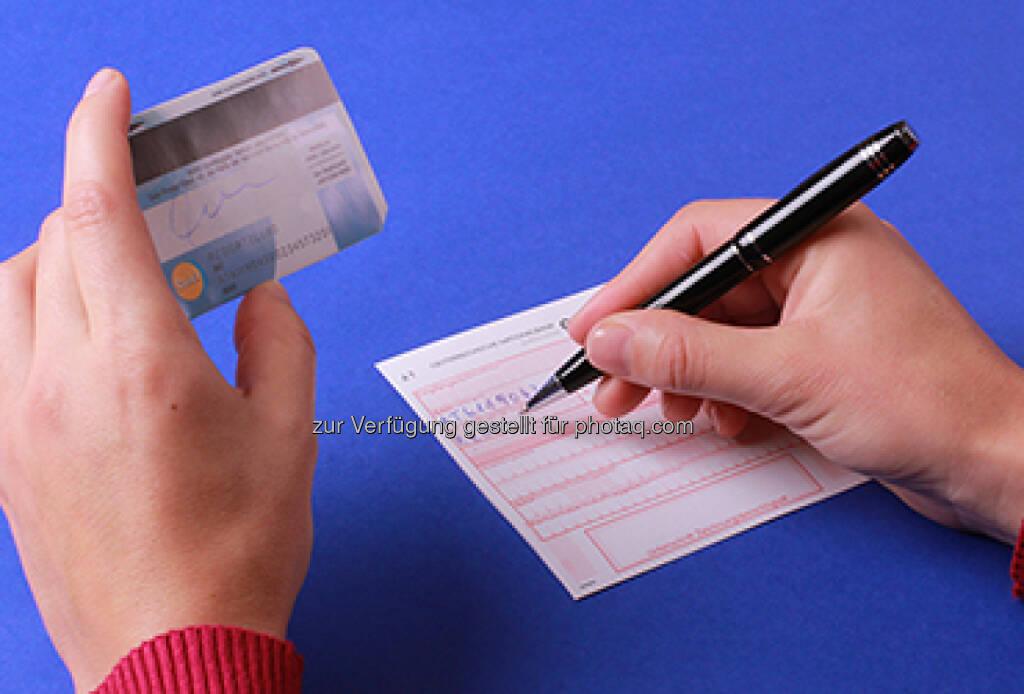 Bankomatkarte mit IBAN, © OeNB (25.05.2014)