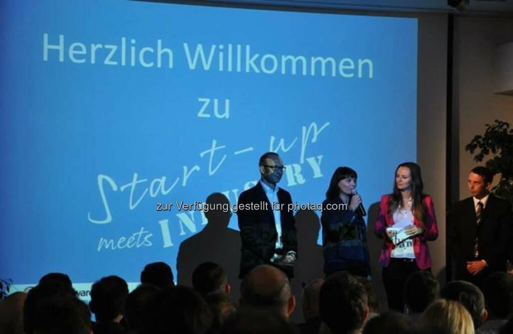 Herzlich willkommen zu Startup meets Industry (Bild: Akostart), © Akostart (26.05.2014)
