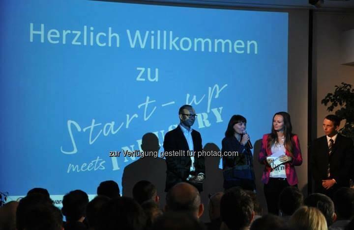 Herzlich willkommen zu Startup meets Industry (Bild: Akostart)