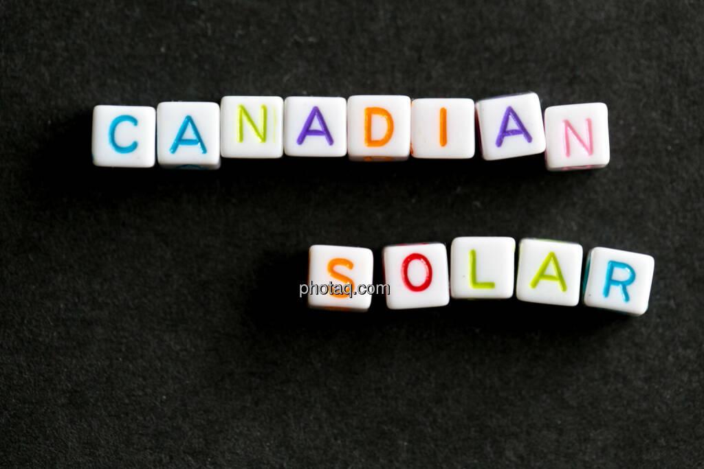 Canadian Solar, © finanzmarktfoto.at/Martina Draper (27.05.2014)
