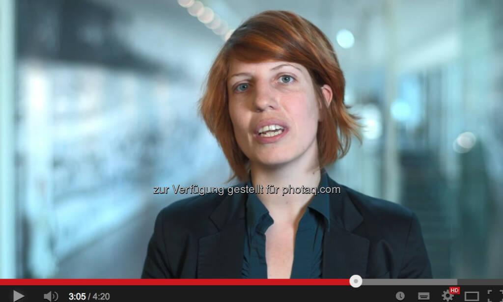 Maria Reibenberger, Corporate Brand Management voestalpine (29.05.2014)