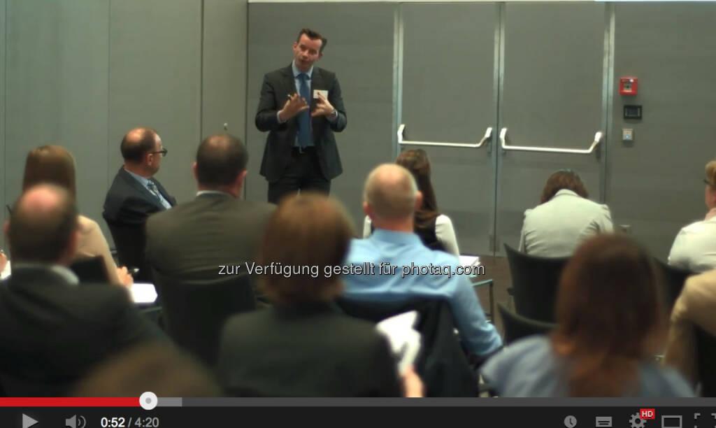 Gerhard Kürner beim 1. voestalpine Group Brand & Communication Day (29.05.2014)