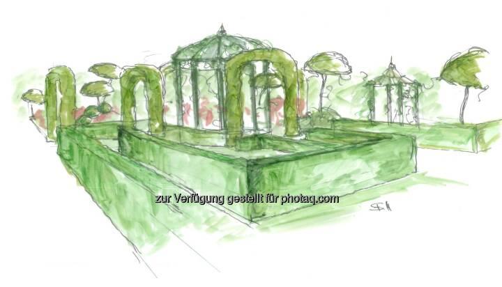 Ludwig Starkl Privatstiftung Holding Gmbh errichtet 'Garten der Lüste' anlässlich des 22. Life Ball