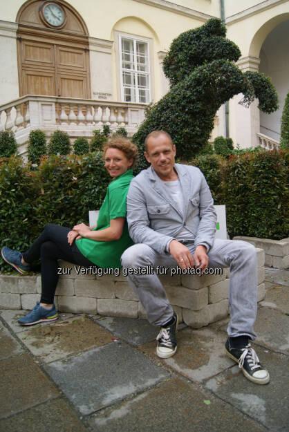 Mit Gery Keszler: Ludwig Starkl Privatstiftung Holding GmbH & Co 'Garten der Lüste' anlässlich des 22. Life Ball (30.05.2014)