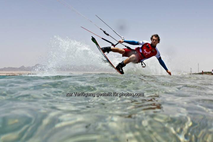 Mario Rodwald (D) beim Red Sea Kitesurf World Cup (28. Mai bis zum 1. Juni ) (Bild: Hoch Zwei / Juergen Tap)