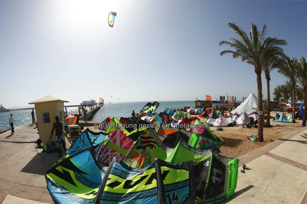 Red Sea Kitesurf World Cup (28. Mai bis zum 1. Juni ) in Soma Bay (Bild: Hoch Zwei / Juergen Tap) (30.05.2014)