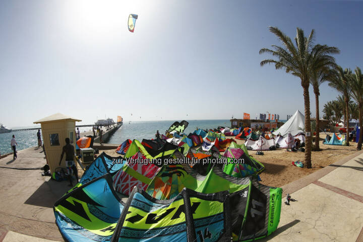 Red Sea Kitesurf World Cup (28. Mai bis zum 1. Juni ) in Soma Bay (Bild: Hoch Zwei / Juergen Tap)