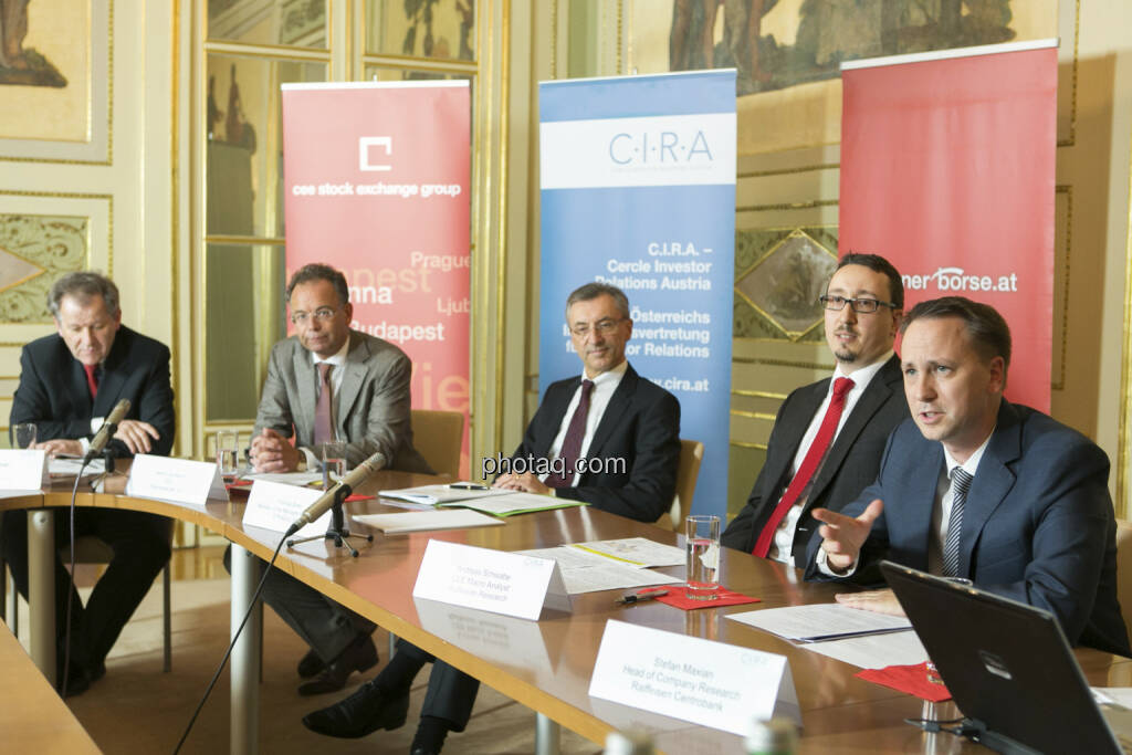 Zehetner, Scheuch, Birtel, Schwabe, Maxian, © Martina Draper (15.12.2012)