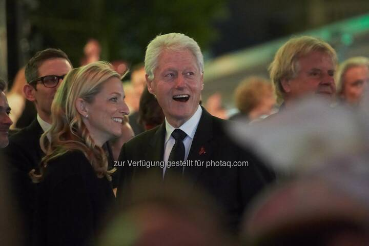 Bill Clinton am Life Ball 2014 Garten der Lüste, Fotocredit: Meda Pharma GmbH/APA-Fotoservice/Preiss