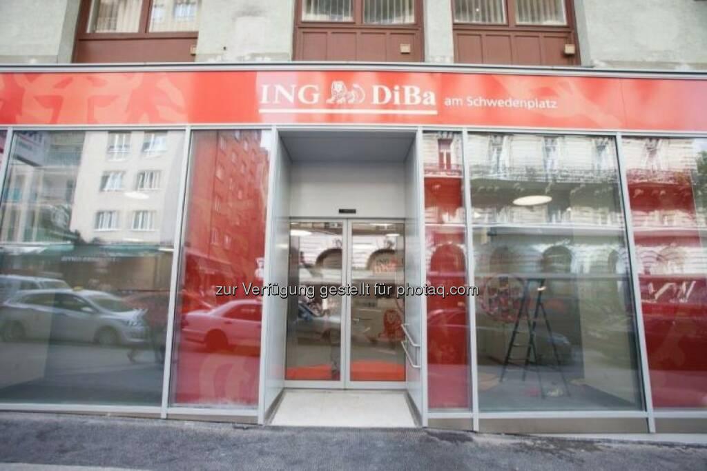 Außenansicht ING DiBa, ©  ING-DiBa Direktbank Austria (02.06.2014)