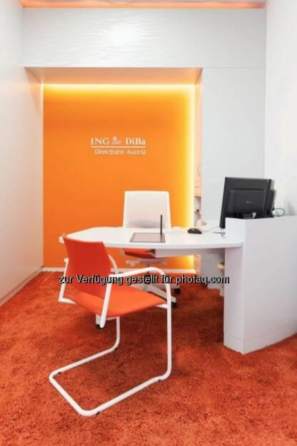 Beratungszimmer ING DiBa, ©  ING-DiBa Direktbank Austria (02.06.2014)