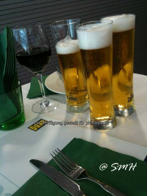 Zipfer Bier. Alkoholhältig, © Michael Fischer (03.06.2014)
