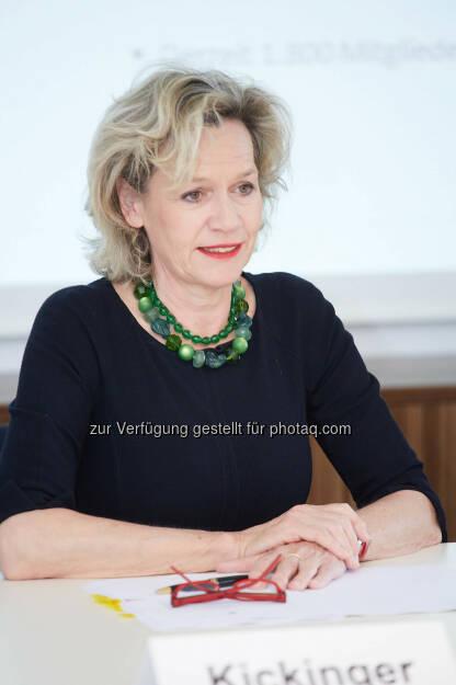 Viktoria Kickinger, Geschäftsführerin von Inara – Initiative AufsichtsRäte Austria, © B&C Gruppe/APA-Fotoservice/Preiss (04.06.2014)