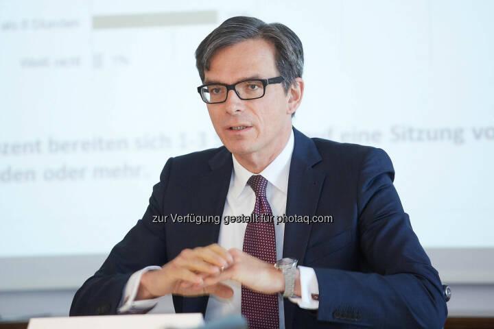 Michael Junghans, Vorsitzender der Geschäftsführung der B&C Industrieholding
