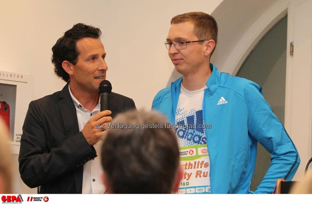 Tom Walek und Guenther Matzinger (AUT). Foto: GEPA pictures/ Philipp Brem (04.06.2014)