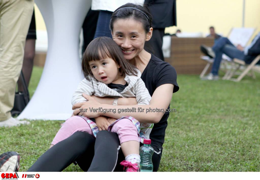 Park, Pause, Liu Jia (AUT). Foto: GEPA pictures/ Philipp Brem (04.06.2014)