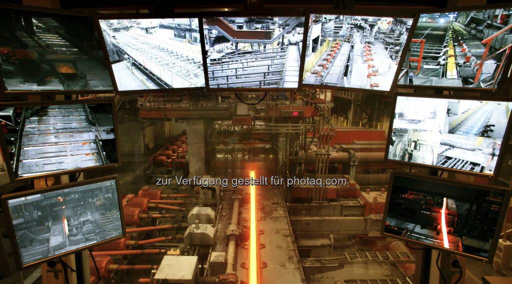 Schienenwalzwerk, © voestalpine - Homepage (29.12.2012)
