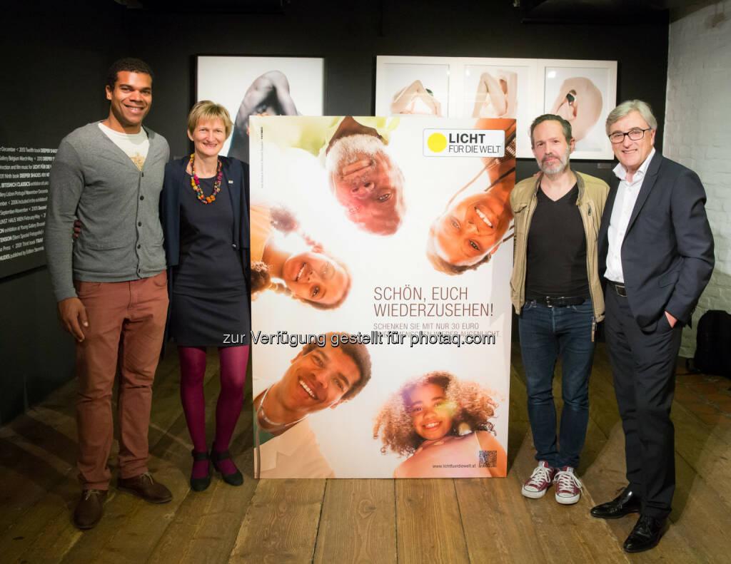 Licht für die Welt : Andreas H. Bitesnich und die Kreativagentur PKP BBDO präsentieren im Kunst Haus Wien die neue Licht für die Welt-Kampagne  (05.06.2014)