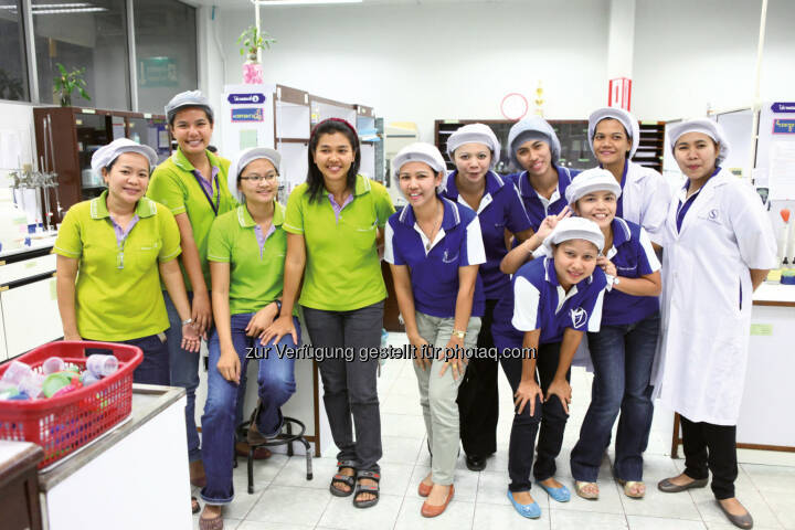 Semperit AG Holding: Semperit AG Holding / Hohe Ethik- und Sozialstandards bei Sempermed in Thailand