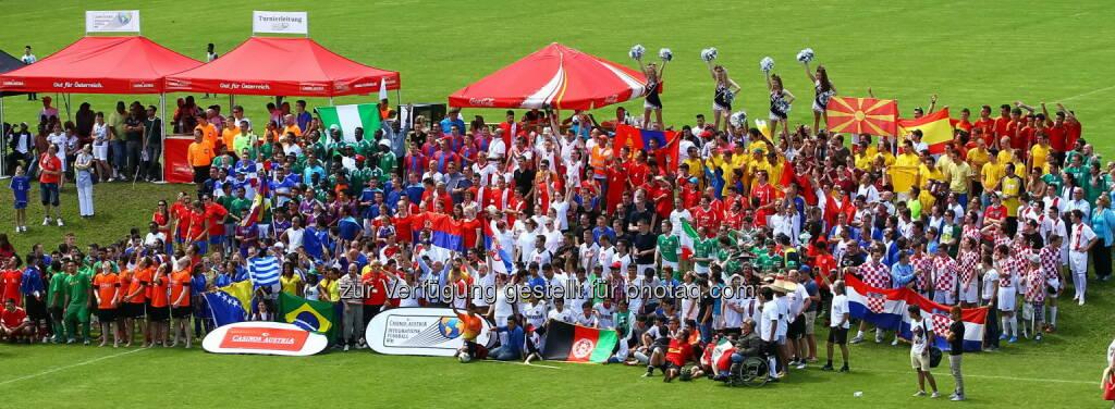 Verein Sport spricht alle Sprachen: Österreichs farbenfrohestes Fußballturnier startet: Die Casinos Austria Integrationsfußball WM beginnt in Wien (c) Aussendung (07.06.2014)
