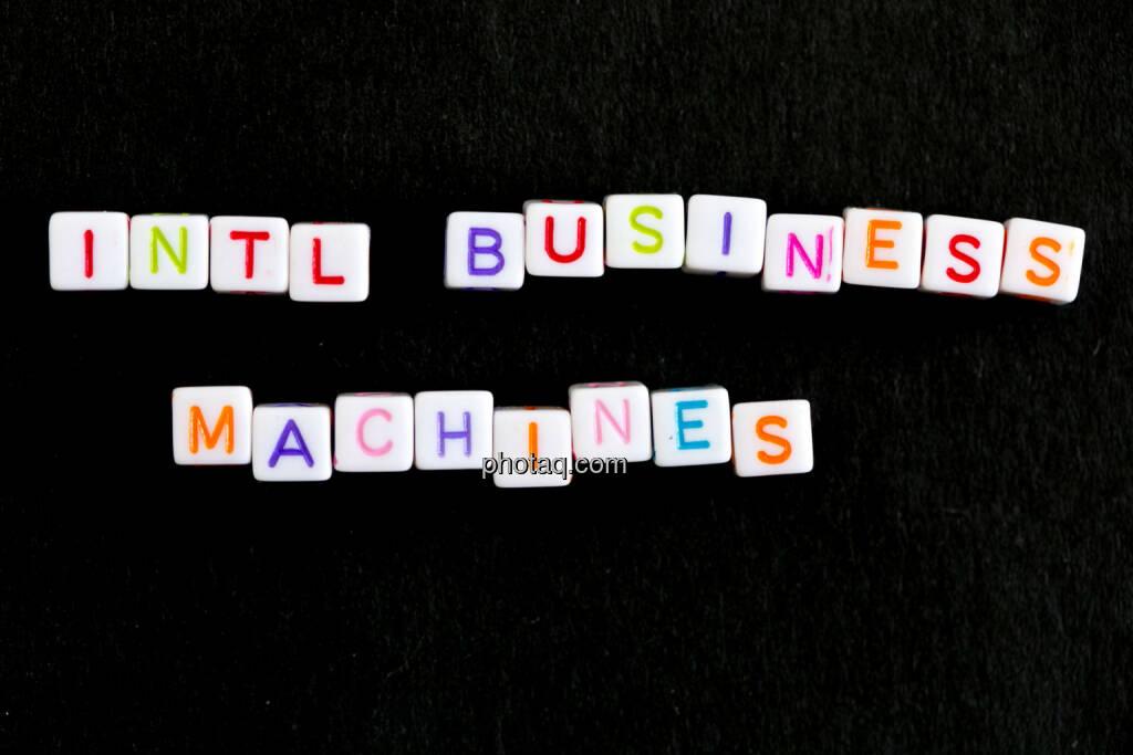 Intl Business Machines, © finanzmarktfoto.at/Martina Draper (09.06.2014)