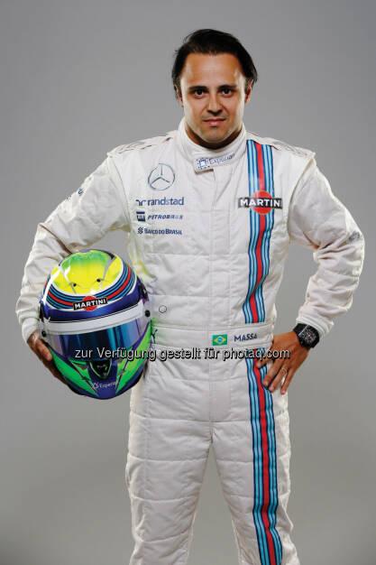 Felipe Massa: Randstad Austria und Kronehit laden am 13. Juni 2014 zum Formel 1(TM) Warm Up mit Felipe Massa ins Novomatic Forum. (10.06.2014)