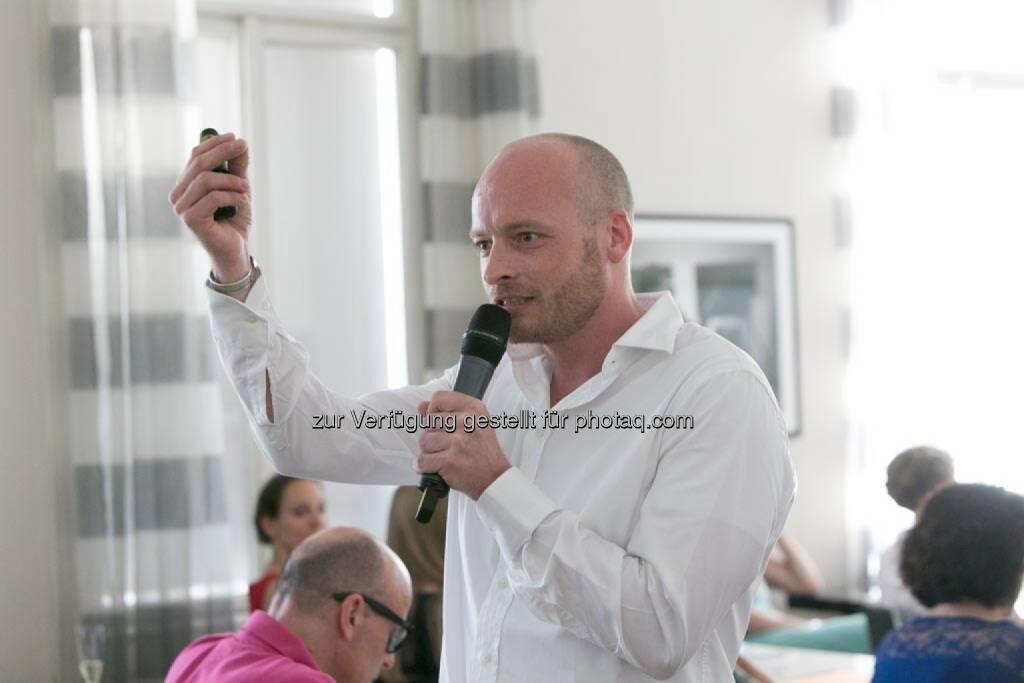 Ronny Hollenstein (Geschäftsführer ic2 concepts & trainings Gmbh), © Martina Draper für HR Circle (11.06.2014)