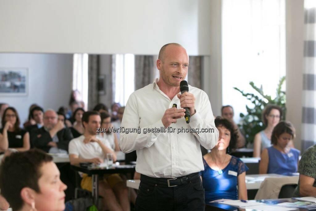 Ronny Hollenstein (Geschäftsführer ic2 concepts & trainings Gmbh) , © Martina Draper für HR Circle (11.06.2014)