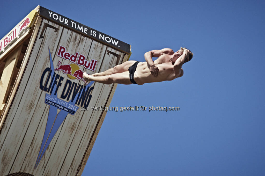 Artem Silchenko, Red Bull Cliff Diving Texas, © Maurice Lacroix, Red Bull (11.06.2014)