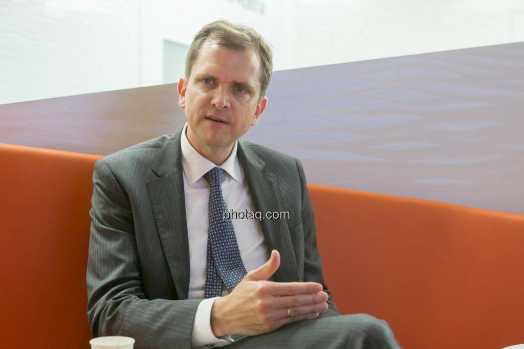 Roel Huisman (CEO ING-DiBa Direktbank Austria), © photeq/Martina Draper (12.06.2014)