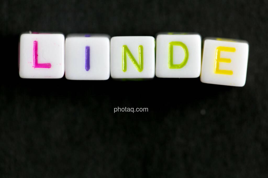 Linde, © finanzmarktfoto.at/Martina Draper (13.06.2014)