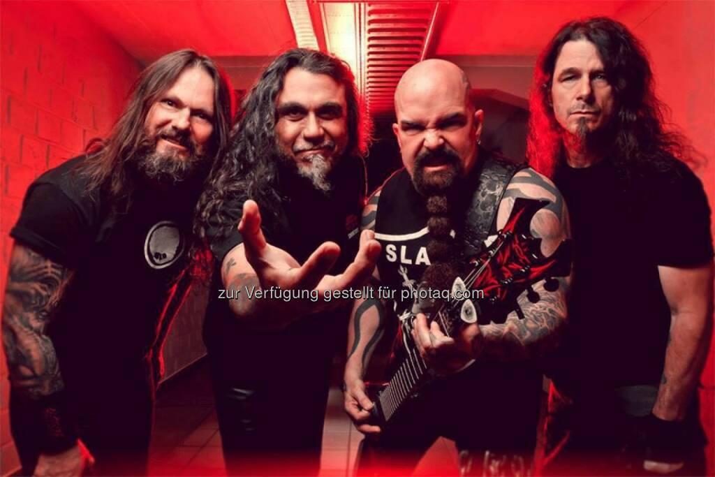 Slayer kommen zum See Rock Festival 2014, © Aussender (13.06.2014)