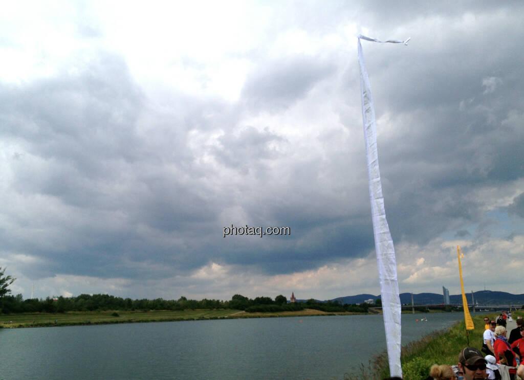Alte Donau Wolken (14.06.2014)